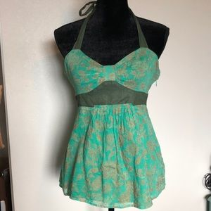 Anthropologie halter top